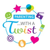 parenting with a twist small podcast logo